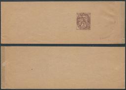 A788 France Entier Bande D'imprimé Neuve - 1900-29 Blanc