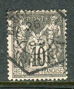 Superbe N° 89 - Cachet Du Bureau Temporaire De Bergerac - Dordogne 1899