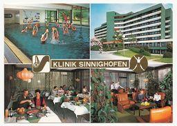 Bad Krozingen - Klinik Sinnighofen - 4 Ansichten - Gelaufen 1986 - Bad Krozingen