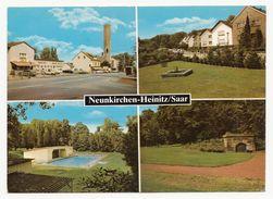 Neunkirchen-Heinitz An Der Saar - 4 Ansichten - Gelaufen 1985 - Kreis Neunkirchen