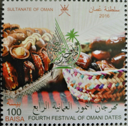Sultanate Of Oman 2016 MNH Stamp - 4th Festival Of Omani Dates - Oman