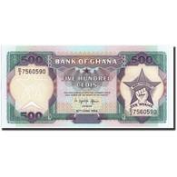 Ghana, 500 Cedis, 1994, KM:28c, 1994-06-22, NEUF - Ghana
