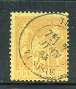 Superbe N° 92 - Cachet De Tunis ( Tunisie 1884 )
