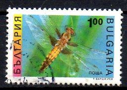 BULGARIE. N°3545 Oblitéré De 1993. Libellule.