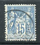 Superbe N° 90 - Cachet à Date De Sétif ( Algérie 1900 )