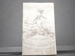 FRANCE - Bulletin Mensuel De La Maison Champion En 1934 - L 7972 - Catalogues De Maisons De Vente