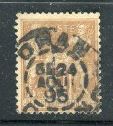 Superbe N° 80 - Cachet à Date D'Oran ( Algérie 1895 )