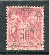 Superbe N° 98 - Cachet à Date D'Alger ( Algérie 1898 )