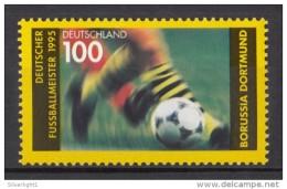 Germany BRD 1995 / MiNr. 1833 ** MNH / Deutscher Fussballmeister Borussia Dortmund (BVB 09)