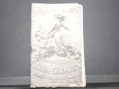 FRANCE - Bulletin Mensuel De La Maison Champion En 1934 - L 7976 - Catalogues De Maisons De Vente