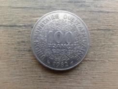 West Africa  100  Francs  1982  Km 4 - Otros – Africa