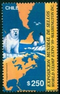 CHILE 1989 WORLD STAMP EXPO, ARCTIC AND ANTARCTIC FAUNA** (MNH)
