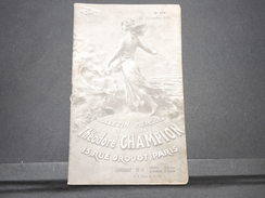 FRANCE - Bulletin Mensuel De La Maison Champion En 1934 - L 7978 - Catálogos De Casas De Ventas