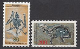 Germany BRD 1978 / MiNr. 974-975 ** MNH / Fossilien