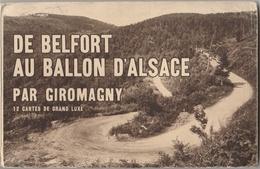 Carnet De 12 CPA De Belfort Au Ballon D'Alsace Par Giromagny - France