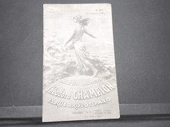 FRANCE - Bulletin Mensuel De La Maison Champion En 1935 - L 7979 - Catalogues For Auction Houses