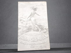 FRANCE - Bulletin Mensuel De La Maison Champion En 1935 - L 7979 - Catálogos De Casas De Ventas
