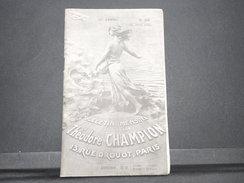 FRANCE - Bulletin Mensuel De La Maison Champion En 1935 - L 7980 - Cataloghi Di Case D'aste