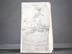 FRANCE - Bulletin Mensuel De La Maison Champion En 1935 - L 7981 - Cataloghi Di Case D'aste