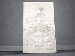 FRANCE - Bulletin Mensuel De La Maison Champion En 1935 - L 7982 - Cataloghi Di Case D'aste