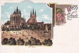 2791114Gruss Aus Erfurt, Der Dom (Minuscule Falten Im Ecken) - Erfurt