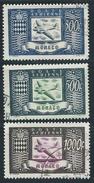 Monaco - 1949 -  Avion Et Armoiries  - N° PA 42 à 44  - Oblit - Used