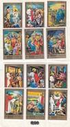 SHARJAH & DEPENDENCIES - LA VIE DE JESUS - LOT DE 12 TIMBRES / R241 - Cristianesimo
