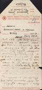 Document Formulaire Croix Rouge Genève écrite Par Italien Pour Prisonnier Italien En Allemagne Dans Stalag 23.11.1943 FM - Briefe U. Dokumente