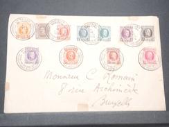 BELGIQUE - Enveloppe De Bruxelles Pour Bruxelles En 1924 , Affranchissement Philatélique Plaisant - L 7993 - België