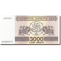 Géorgie, 3000 (Laris), 1993, 1993, KM:45, NEUF - Géorgie