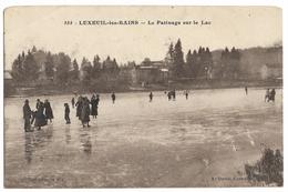 555. Luxeuil Les Bains - Le Patinage Sur Le Lac - Autres Communes