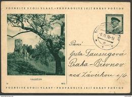 Tschechoslowakei Czechoslovakia Tchécoslovaquie Cecoslovacchia - MNICHOVOHRADISTE - 1938 - VALECOV
