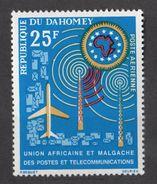 Dahomey (Benin) 1963 - MiNr. 221 ** MNH - Post- Und Fernmeldeunion