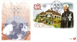 South Africa - 1999 900th Anniversary Of Order Of St John Mandela FDC # SG 1132 , Mi Block 77