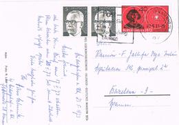 24419. Postal LUDWIGSHAFEN Am RHEIN (Alemania Federal) 1975. Stamp Kopernicus - BRD