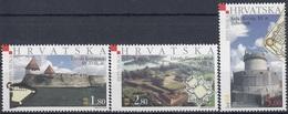 CROATIA 653-655,unused