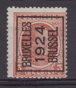 België/Belgique  Preo  Typo  N° 98A Bruxelles/Brussel 1924 V1a Luppi. - Typos 1922-31 (Houyoux)
