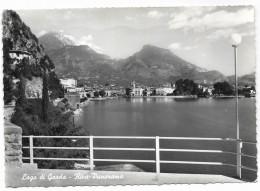 RIVA PANORAMA - LAGO DI GARDA  VIAGGIATA FG - Trento