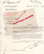 75- PARIS- ORDE DE BOURSE BANQUE- AL. LAGUESE -1 RUE ROSSINI- A M. LAGARDE BLAYE- 1930 - Bank & Insurance