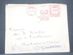 ESPAGNE - Affranchissement Mécanique De Madrid En 1935 Sur Enveloppe Pour La France - L 8015 - 1931-Aujourd'hui: II. République - ....Juan Carlos I