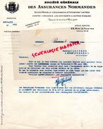 76 - ROUEN- 33- BORDEAUX- STE GENERALES ASSURANCES NORMANDES- A M. LACOMBE A MUSSET POMEROL- 1932 J. FERRY FONTNOUVELLE - Bank & Insurance
