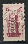 """FRANCE - EUROPA - N° Yvert 1076 Belle Obliteration Ronde Peu Marquée De """"GRAULHET"""" De 1957 - Used Stamps"""