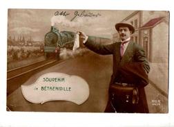 51-1150 BETHENIVILLE Gare Train - Bétheniville