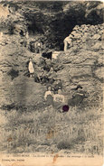 SAINT MORE -La Grotte Du Père Leleu - Le Montage A La Corde  (97020) - Andere Gemeenten