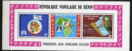 Rep. Benin ** Bloc N° 26 -  3e Jeux Africains D'Alger