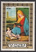 "880 Fujeira 1972 ""Madonna Leggente (Tallard)"" Quadro Dipinto Da Giorgione Scuola Veneziana Tableaux Paintings - Madonne"
