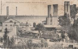 CPA Ruelle Fonderie De Canons Porte Du Chemin De Fer - Animée - Otros Municipios