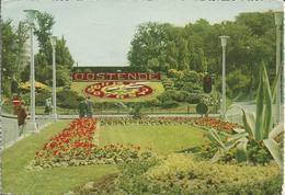 Groeten Uit Oostende (bloemen-uurwerk)  -  Bonjour D'Ostende (Horloge Fleurie).  (scan Verso)