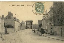 CPA (18) SAINT THIBAULT Rue Des Ponts (B.BUR) - France