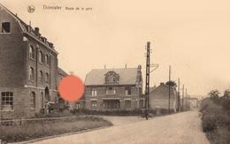 THIMISTER CLERMONT  Rte De La Gare Vers 1920 à Gauche Meunerie Pirenne Desonay - Thimister-Clermont
